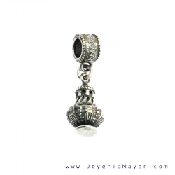 Silver incense charm from Compostela