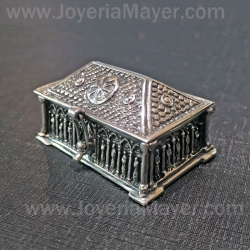 Silver box and jet