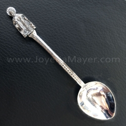 Cucharilla de plata Apóstol Santiago