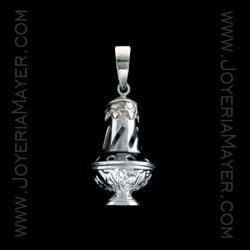 Colgante Botafumeiro de Compostela de plata
