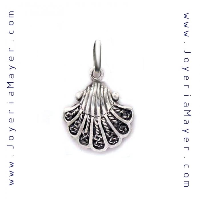 Concha de Compostela de plata