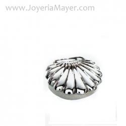 pastillero de plata concha Compostela