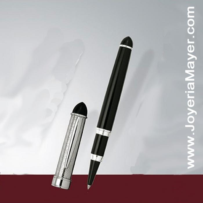 Bolígrafo Roller de plata