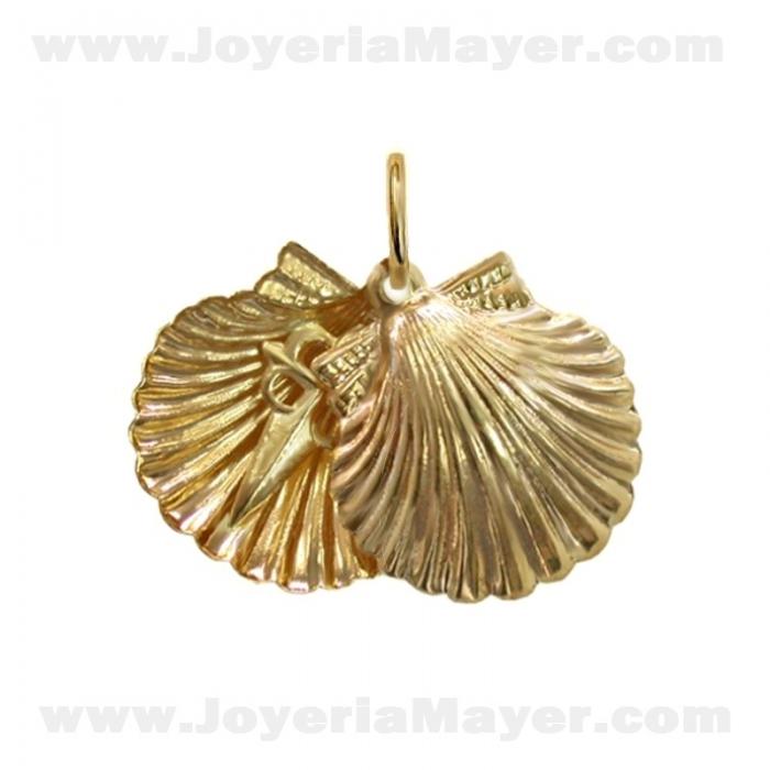Concha de Compostela de oro