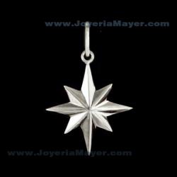 Estrella de Compostela de plata