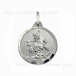 medalla de Santiago Matamoros de plata