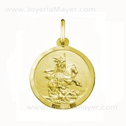 Medalla del Apóstol Santiago de oro